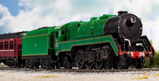 87001 7 c38 class  pacific  express passenger locomotive scenic